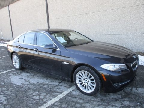 Dark Graphite Metallic II 2013 BMW 5 Series 535i xDrive Sedan