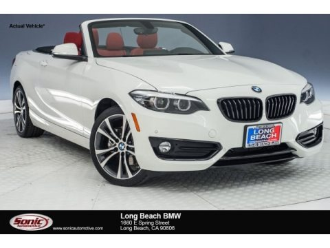 Alpine White 2018 BMW 2 Series 230i Convertible