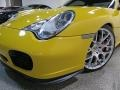 Porsche 911 Turbo Coupe Speed Yellow photo #13