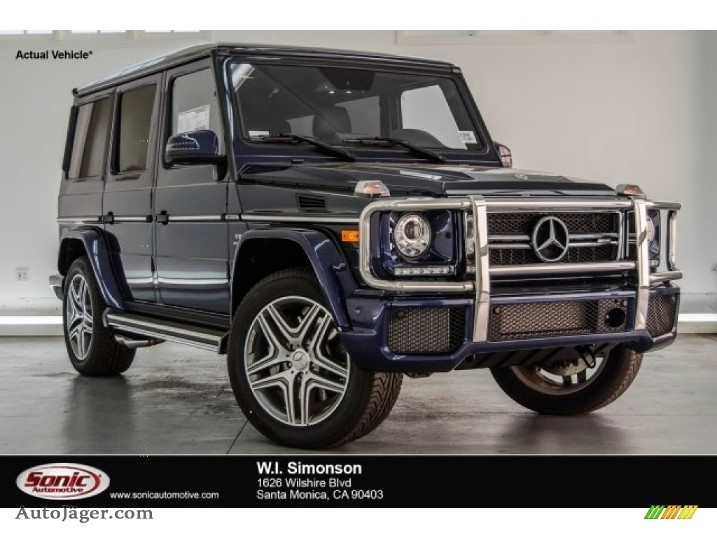 2018 G 63 AMG - designo Mystic Blue Metallic / designo Black photo #1