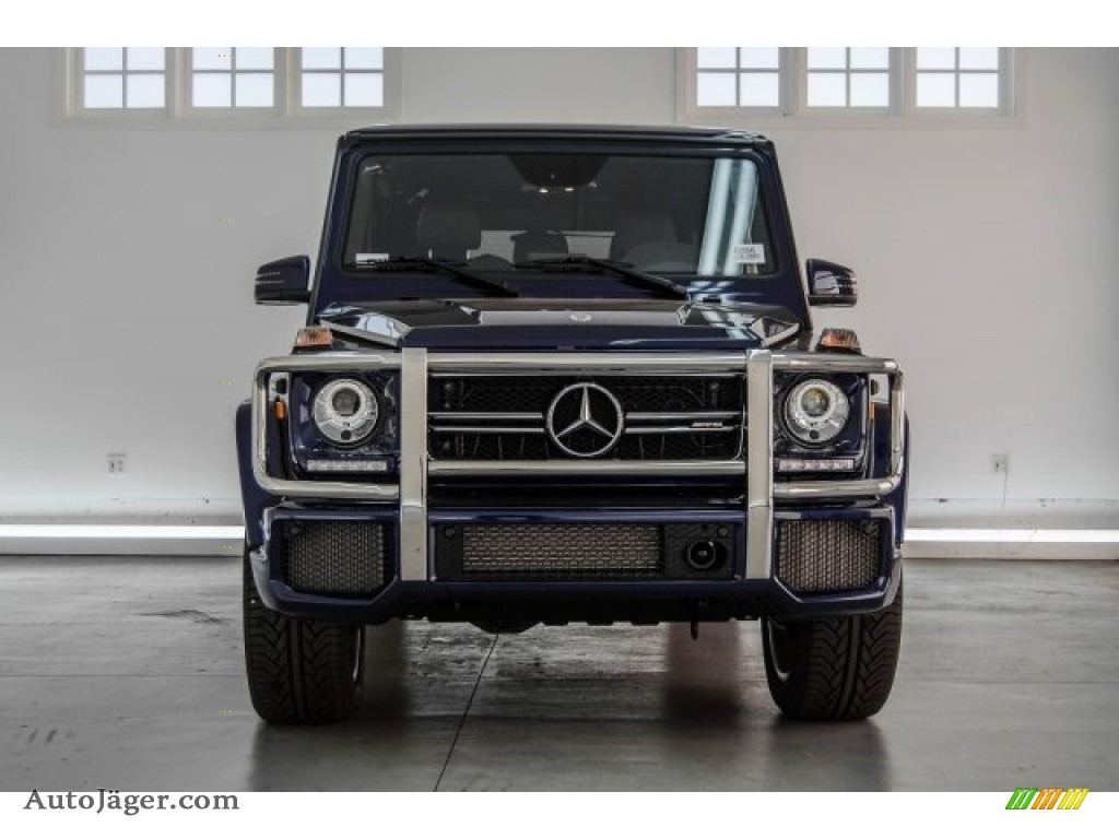 2018 G 63 AMG - designo Mystic Blue Metallic / designo Black photo #2