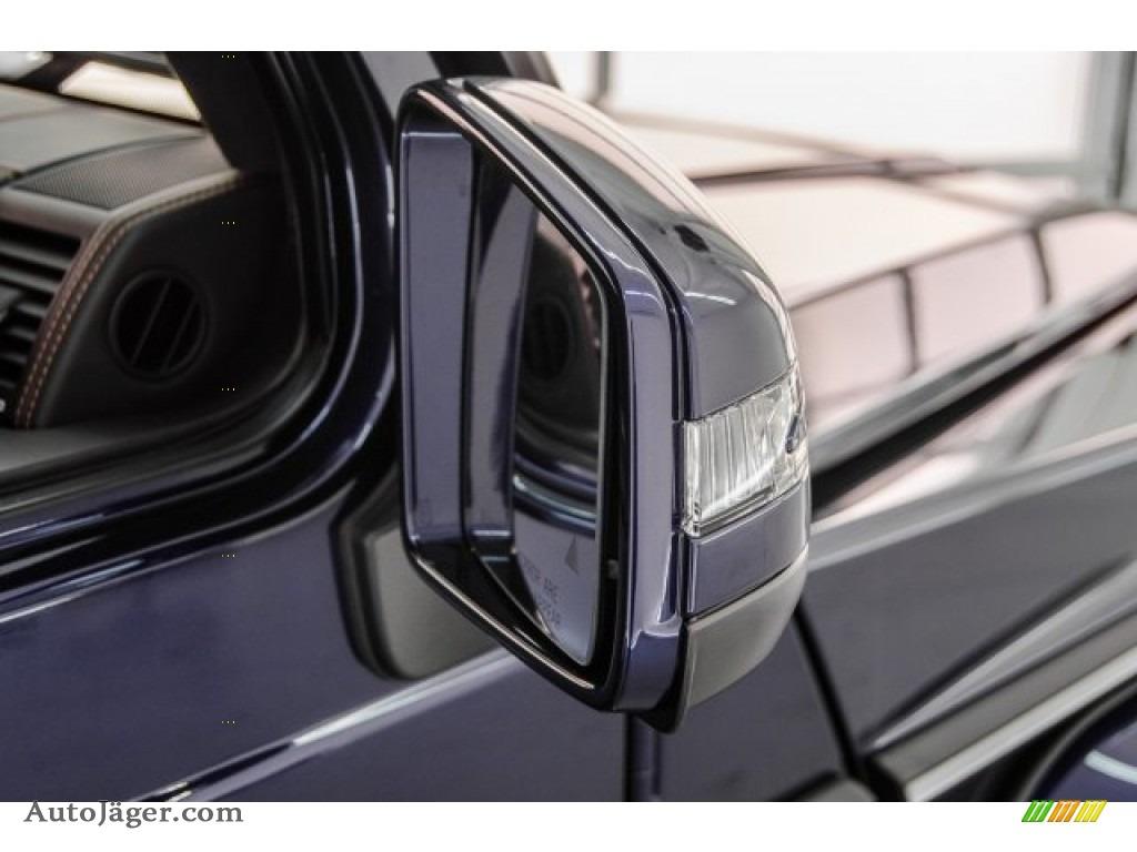 2018 G 63 AMG - designo Mystic Blue Metallic / designo Black photo #12