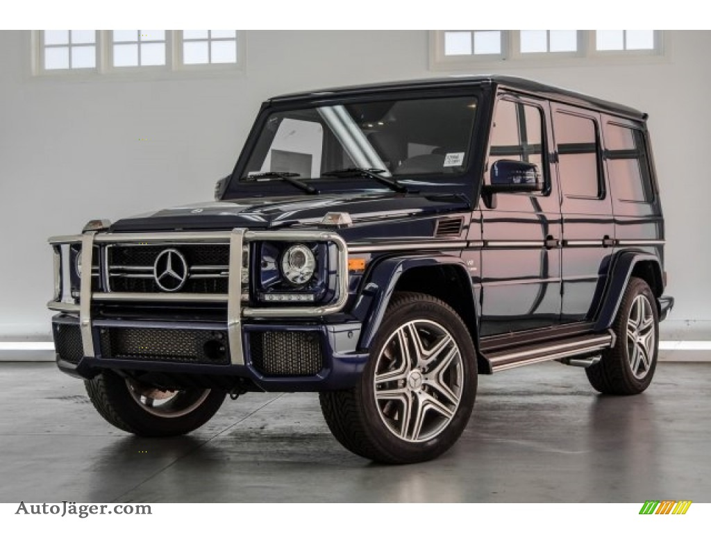 2018 G 63 AMG - designo Mystic Blue Metallic / designo Black photo #18