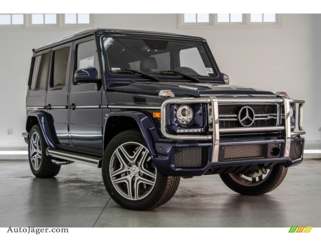 2018 G 63 AMG - designo Mystic Blue Metallic / designo Black photo #20