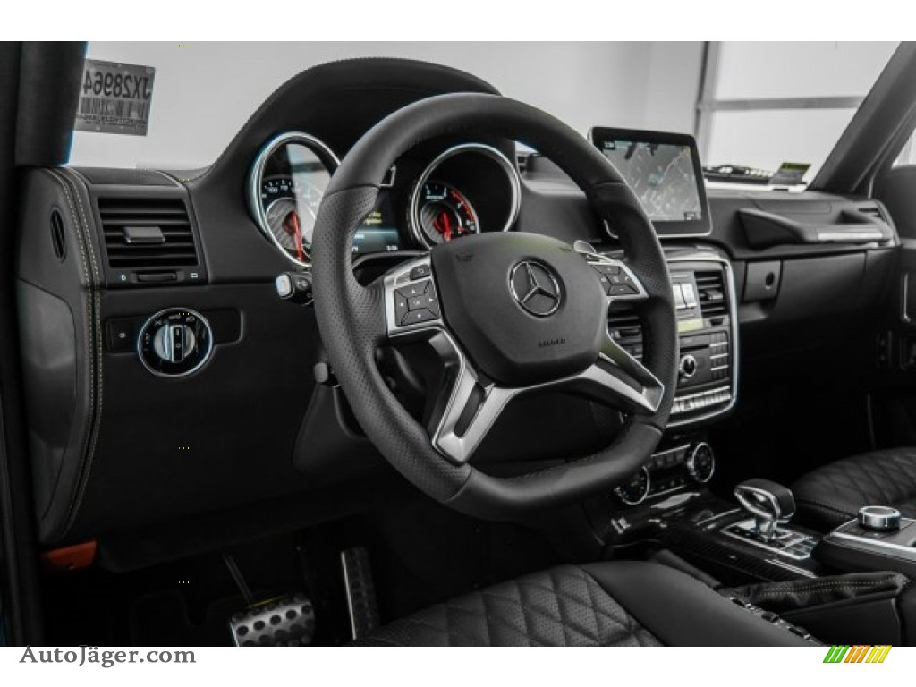 2018 G 63 AMG - designo Mystic Blue Metallic / designo Black photo #28