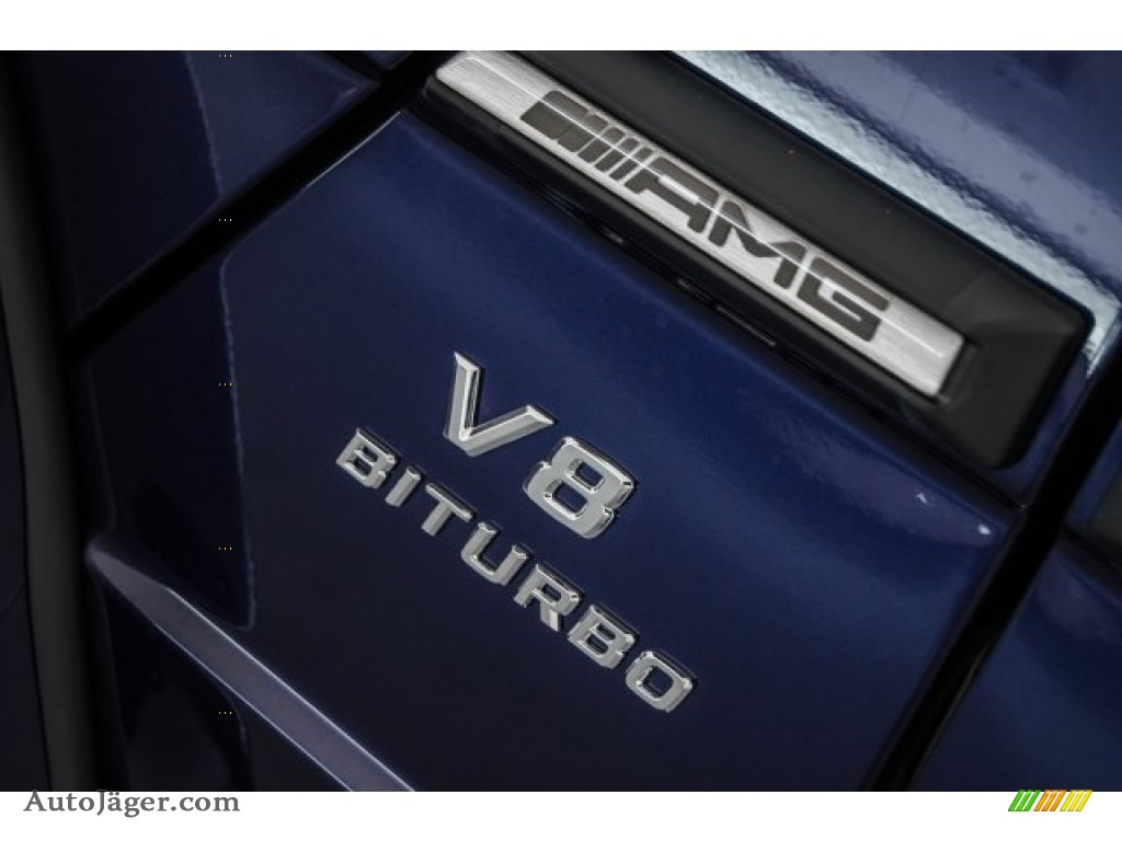 2018 G 63 AMG - designo Mystic Blue Metallic / designo Black photo #45