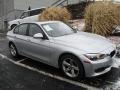 BMW 3 Series 328i xDrive Sedan Glacier Silver Metallic photo #1