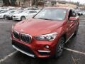 BMW X1 xDrive28i Sunset Orange Metallic photo #7