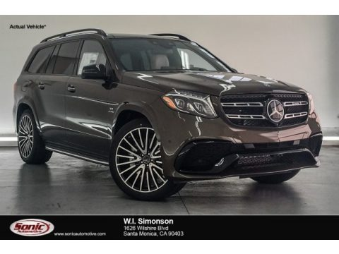 Dakota Brown Metallic 2018 Mercedes-Benz GLS 63 AMG 4Matic