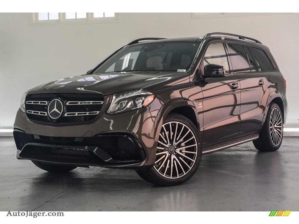 2018 GLS 63 AMG 4Matic - Dakota Brown Metallic / Porcelain/Black photo #15