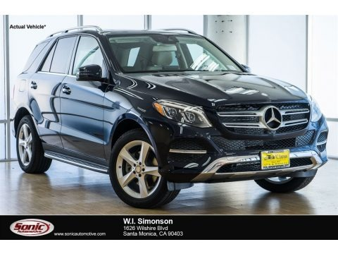 Lunar Blue Metallic 2018 Mercedes-Benz GLE 350
