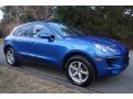 Porsche Macan  Sapphire Blue Metallic photo #8