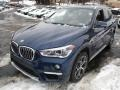 BMW X1 xDrive28i Mediterranean Blue Metallic photo #7