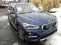 BMW X1 xDrive28i Mediterranean Blue Metallic photo #9