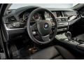 BMW 5 Series 528i Sedan Jet Black photo #15