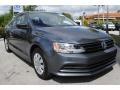 Volkswagen Jetta S Platinum Grey Metallic photo #2