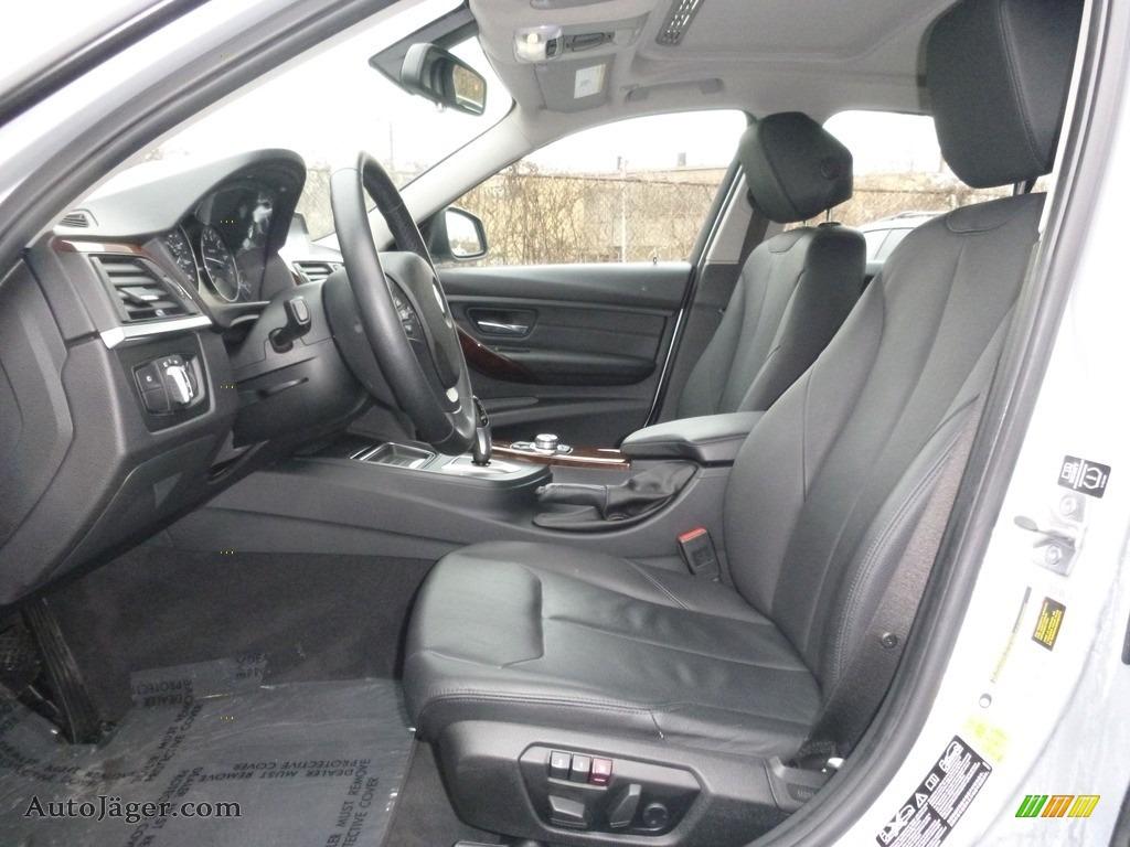 2013 3 Series 328i xDrive Sedan - Glacier Silver Metallic / Black photo #13