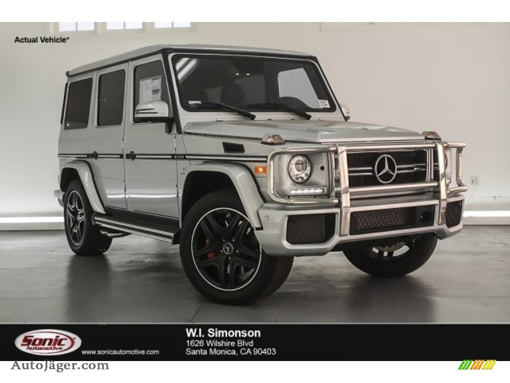 2018 G 63 AMG - Iridium Silver Metallic / designo Black photo #1