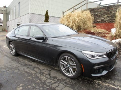 Singapore Gray Metallic 2018 BMW 7 Series 750i xDrive Sedan
