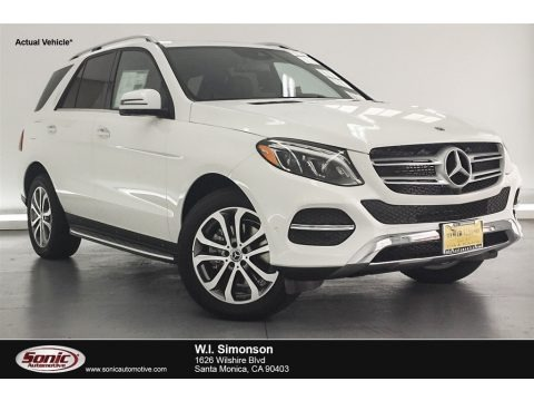 Polar White 2018 Mercedes-Benz GLE 350