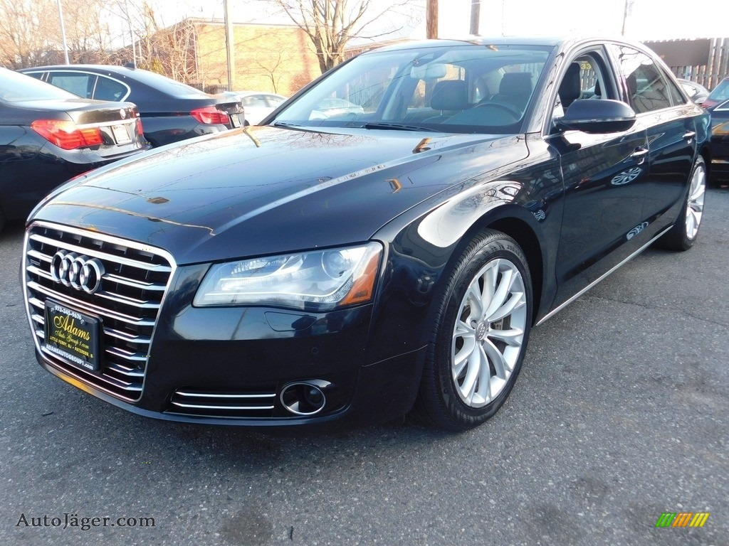 2012 A8 L 4.2 quattro - Havanna Black Metallic / Black photo #1