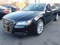 Audi A8 L 4.2 quattro Havanna Black Metallic photo #1