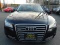 Audi A8 L 4.2 quattro Havanna Black Metallic photo #8
