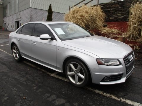Ice Silver Metallic 2012 Audi A4 2.0T quattro Sedan