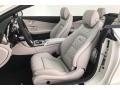 Mercedes-Benz C 63 S AMG Cabriolet designo Cashmere White Magno photo #16