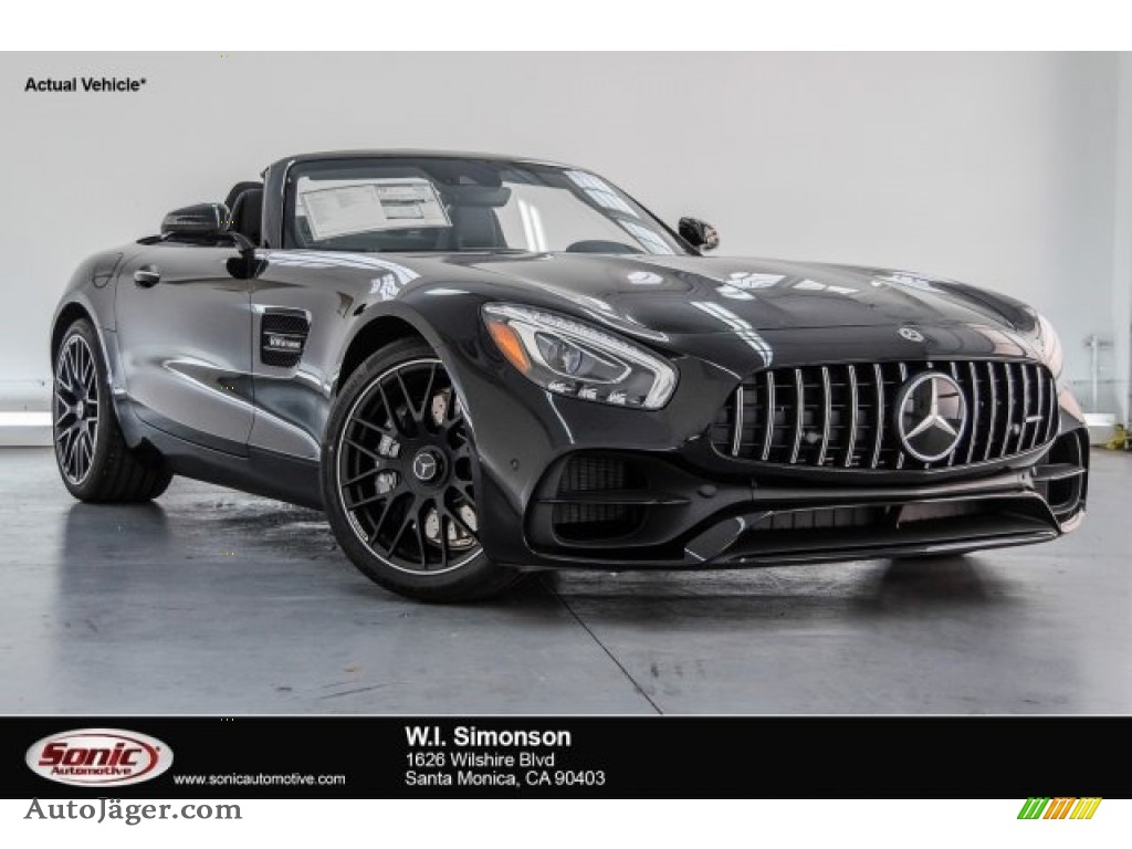 2018 AMG GT Roadster - Black / Black photo #1