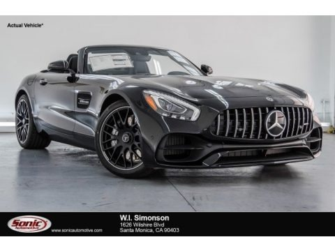 Black 2018 Mercedes-Benz AMG GT Roadster