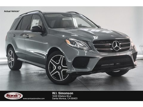 Selenite Grey Metallic 2018 Mercedes-Benz GLE 350