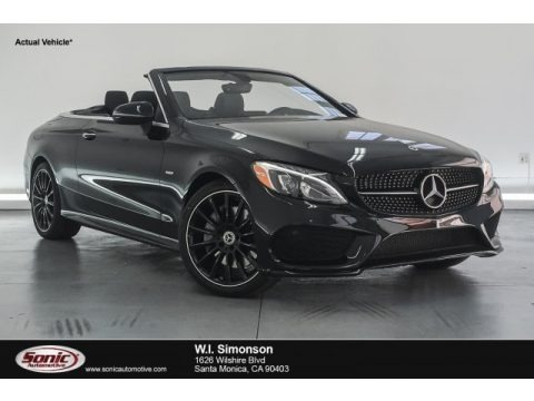 Black 2018 Mercedes-Benz C 300 Cabriolet