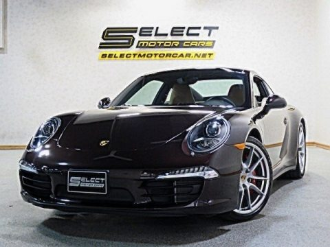 Mahogany Metallic 2014 Porsche 911 Carrera 4S Coupe