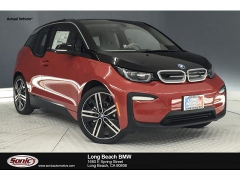 Melbourne Red Metallic 2018 BMW i3 with Range Extender