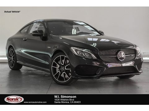 Obsidian Black Metallic 2018 Mercedes-Benz C 43 AMG 4Matic Coupe
