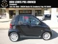 Smart fortwo passion cabriolet Deep Black photo #1