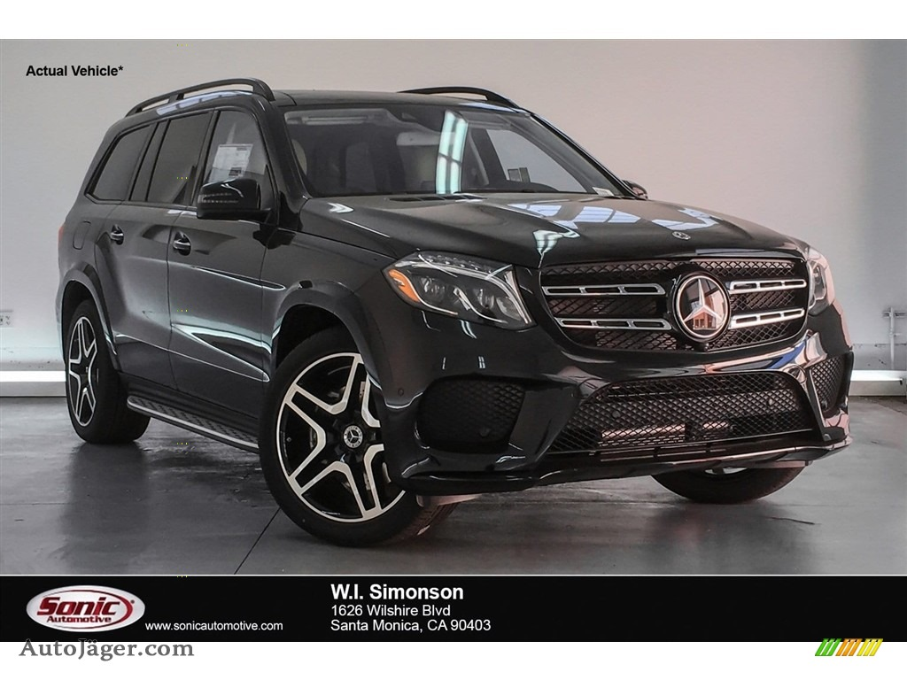 2018 GLS 550 4Matic - Black / Ginger Beige/Black photo #1
