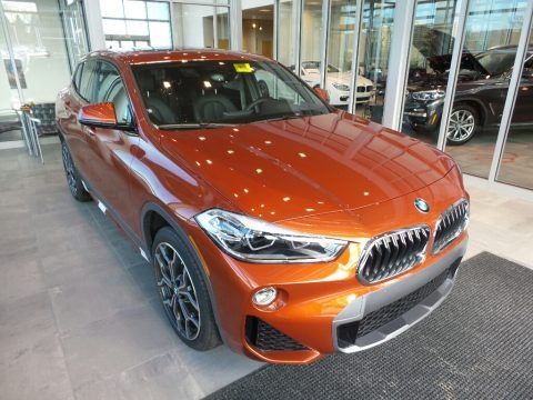 Sunset Orange Metallic 2018 BMW X2 xDrive28i