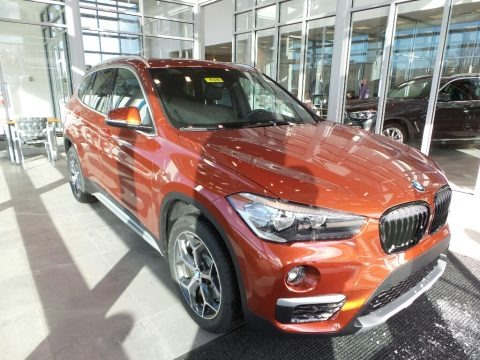 Sunset Orange Metallic 2018 BMW X1 xDrive28i