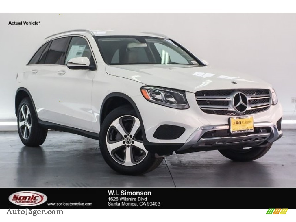 2018 GLC 300 - Polar White / Silk Beige/Espresso Brown photo #1