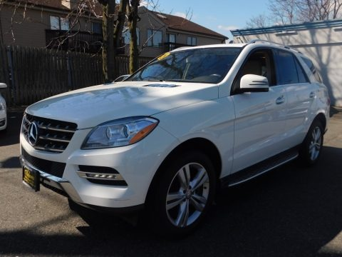 Arctic White 2013 Mercedes-Benz ML 350 4Matic