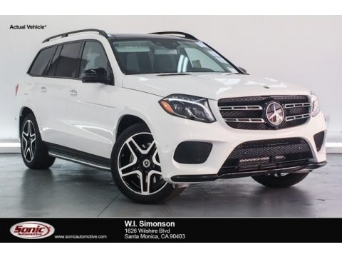 Polar White 2018 Mercedes-Benz GLS 550 4Matic