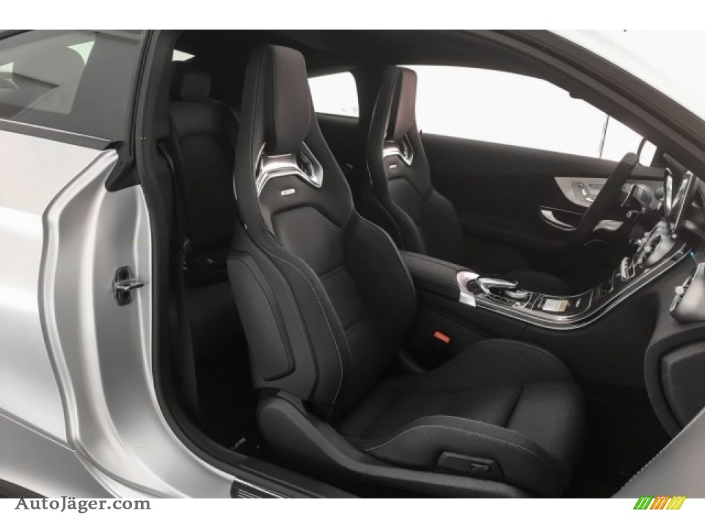 2018 C 63 S AMG Coupe - designo Iridium Silver Magno (Matte) / Black photo #6