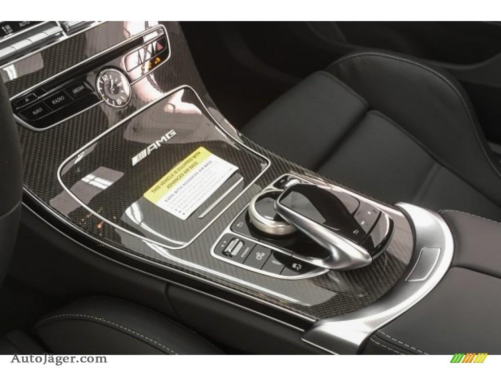 2018 C 63 S AMG Coupe - designo Iridium Silver Magno (Matte) / Black photo #21