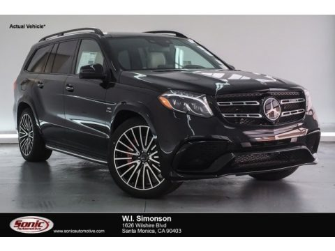 Obsidian Black Metallic 2018 Mercedes-Benz GLS 63 AMG 4Matic