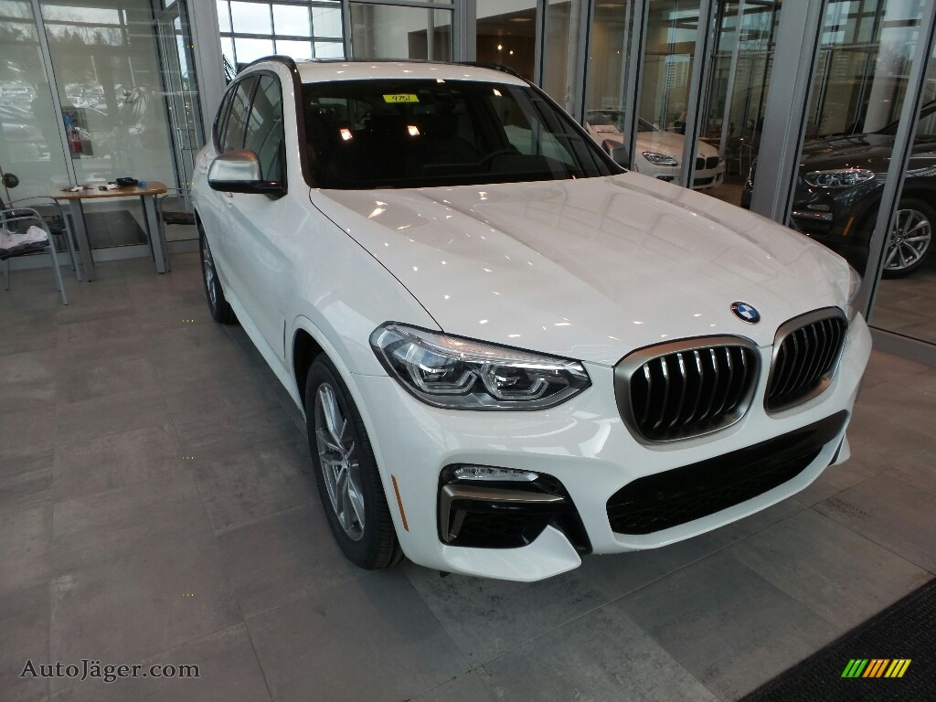 2018 X3 M40i - Alpine White / Black photo #1