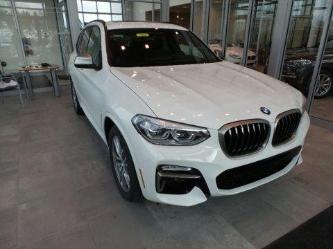 Alpine White 2018 BMW X3 M40i