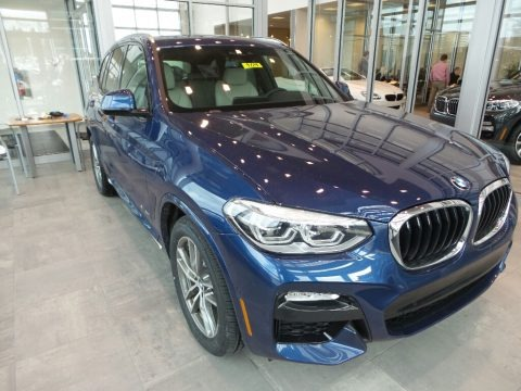 Phytonic Blue Metallic 2018 BMW X3 xDrive30i