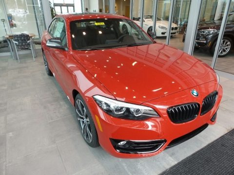 Melbourne Red Metallic 2018 BMW 2 Series 230i xDrive Coupe